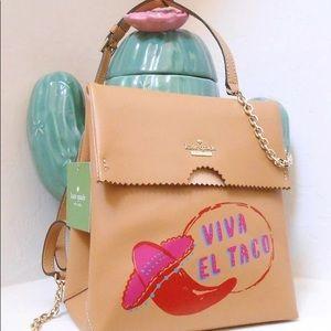 Kate spade takeout bag Viva el taco crossbody bag